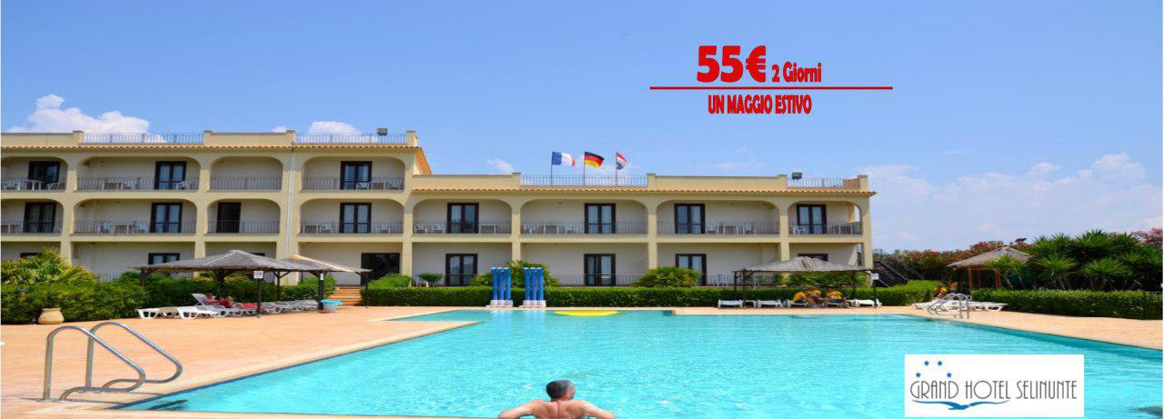 grand hotel selinunte weekend maggio
