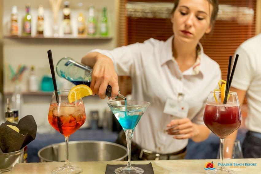cocktail paradise beach resort