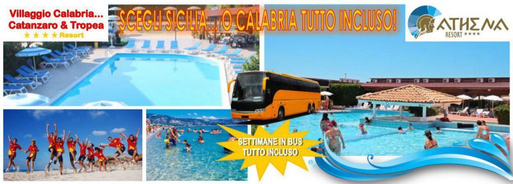 Settimane In Bus Athena Resort - Villaggio Aquilia Soverato