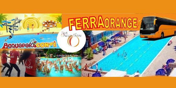 FERRAGOSTO RED ORANGE TOURS 2018 IN BUS