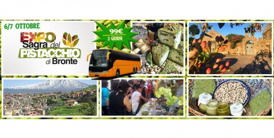 WEEK END EXPO DEL PISTACCHIO A BRONTE