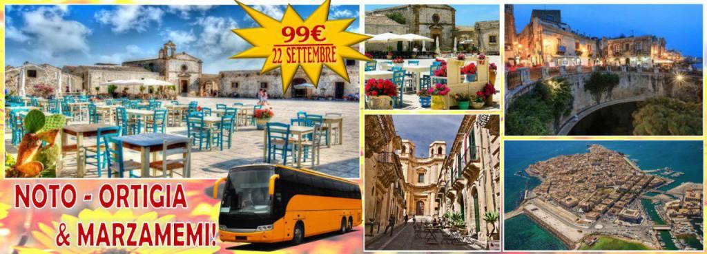 Noto, Ortigia e Marzamemi le bellezze della sicilia orientale