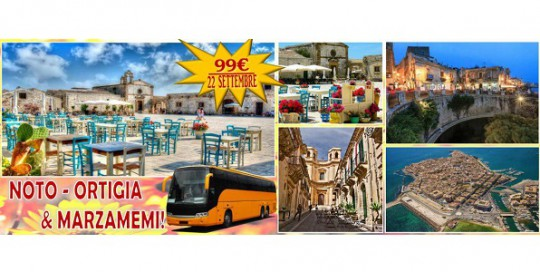 Noto, Ortigia, Marzamemi le bellezze della sicilia orientale