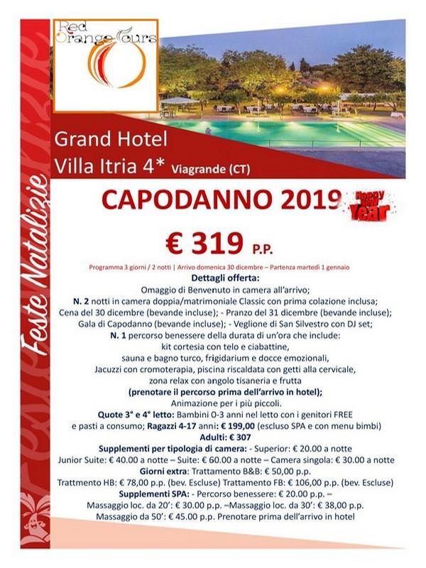 CAPODANNO 2019 VILLA ITRIA