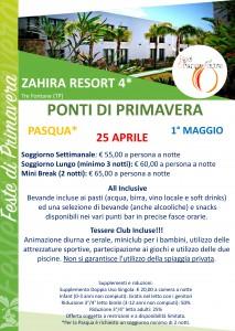 Pasqua Zahira Resort 2019