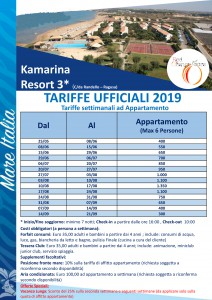 kamarina resort in village