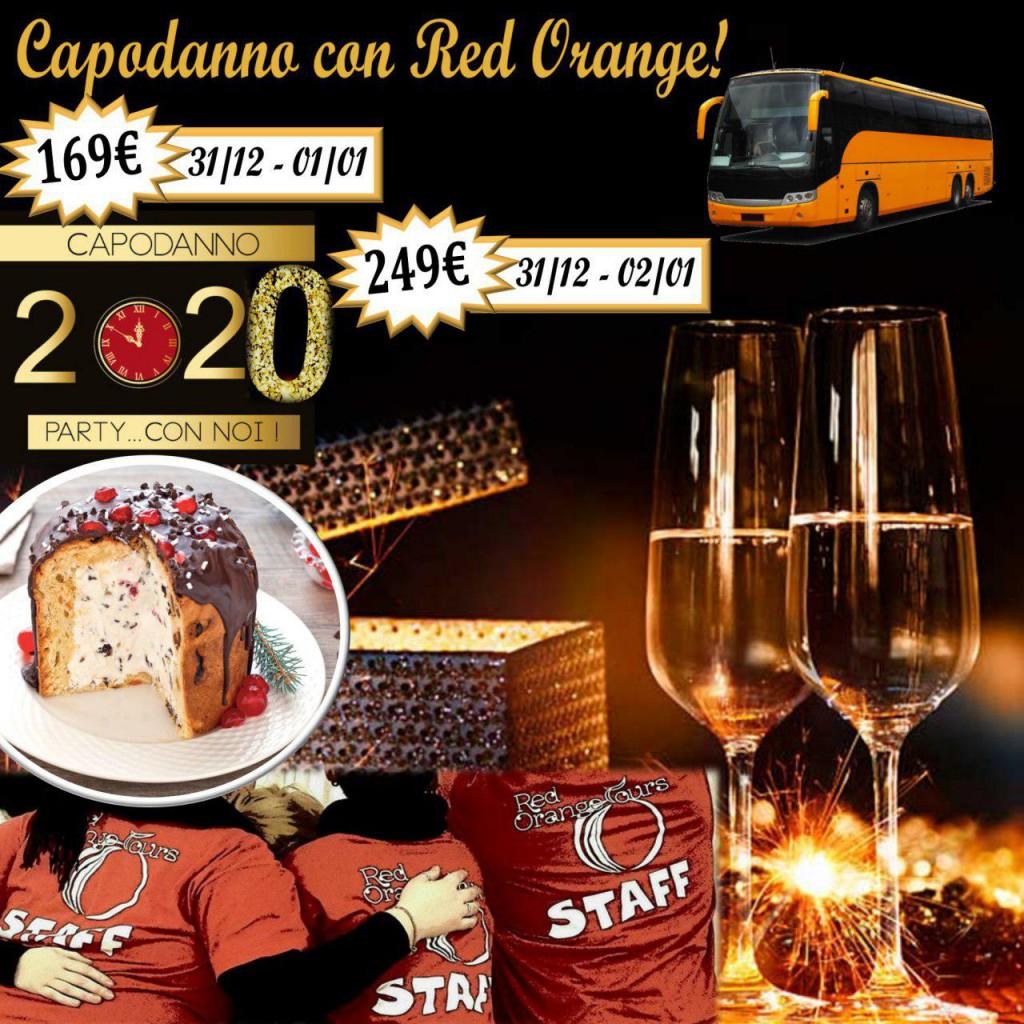 Capodanno 2020 Red Orange Tours