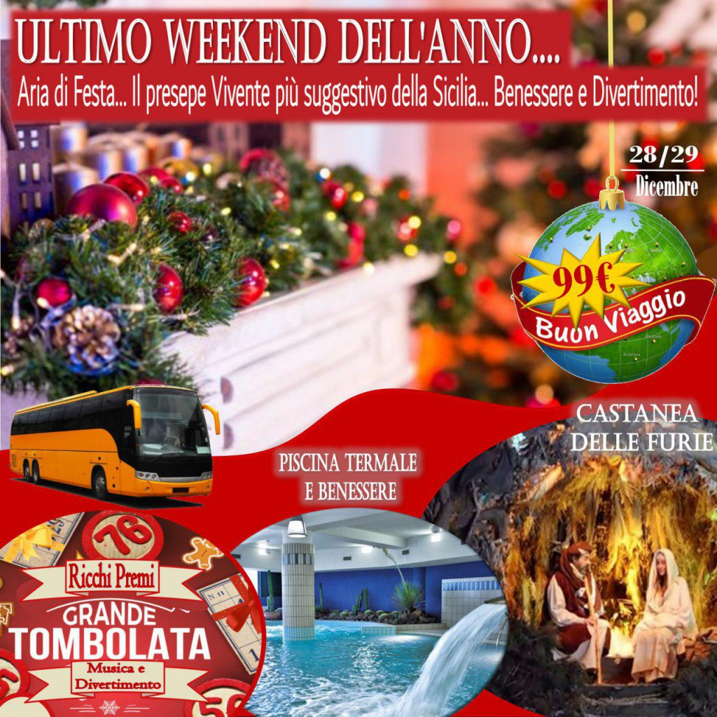 ULTIMO WEEKEND DELL'ANNO RED ORANGE TOURS