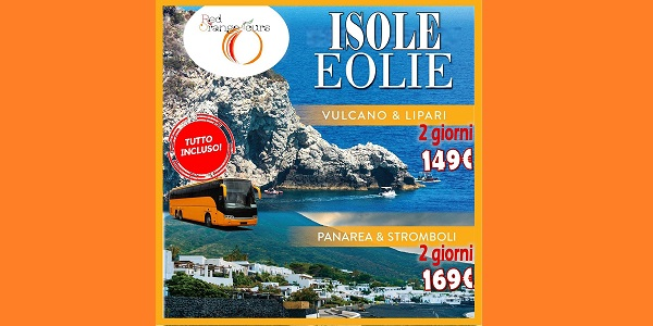 SPECIALE ISOLE EOLIE 2 GIORNI