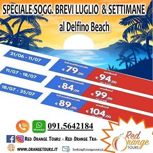 DELFINO BEACH SOGGIORNI BREVI ESTATE 2021