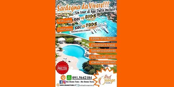 Tour Sardegna Red Orange